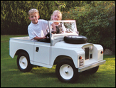 Ride-on Land Rover