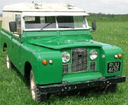 Series II Land Rover