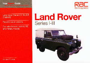 Series Land Rover fault diagnosis