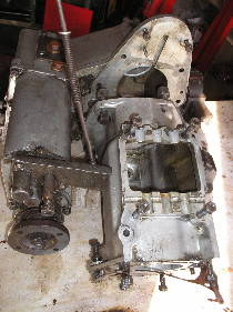Series land Rover gearbox