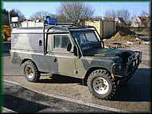 Ex-military Series 3 Land Rover