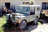 Unrestored Land Rover