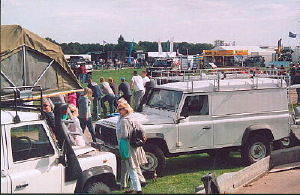 Land Rover Show UK